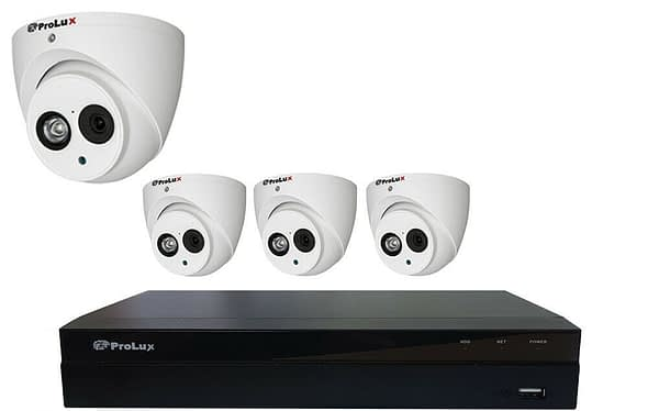 4*2MP Camera and Recorder CCTV Package