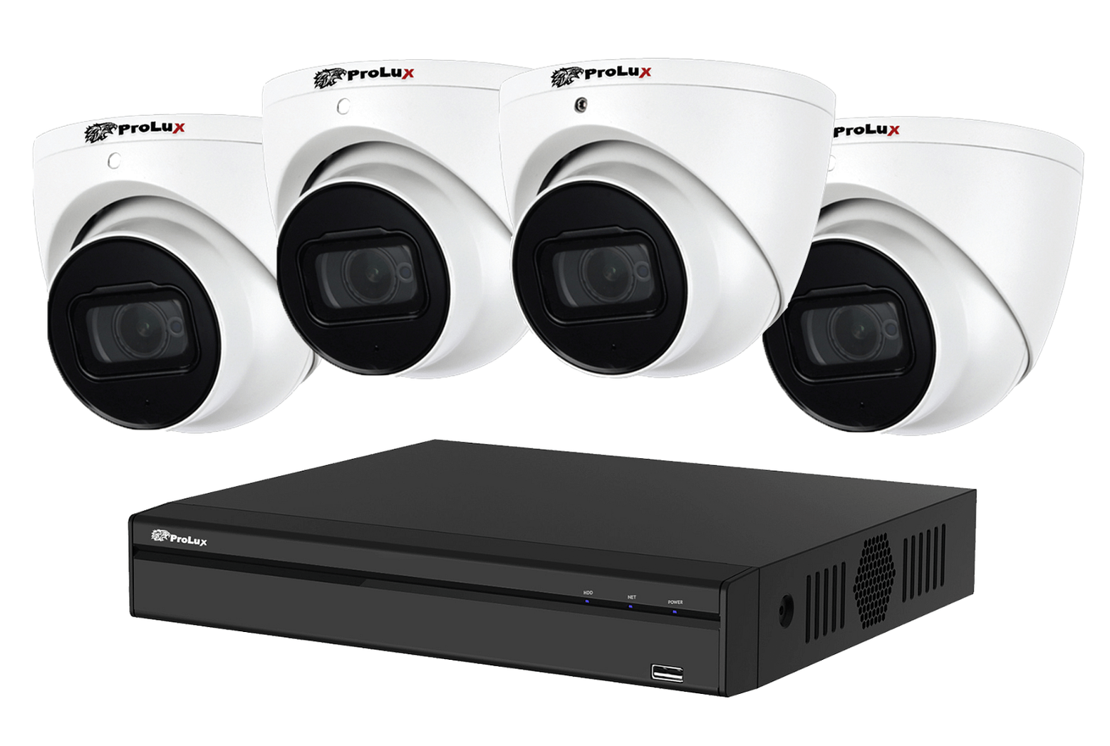 4*5MP Camera and Recorder CCTV Package